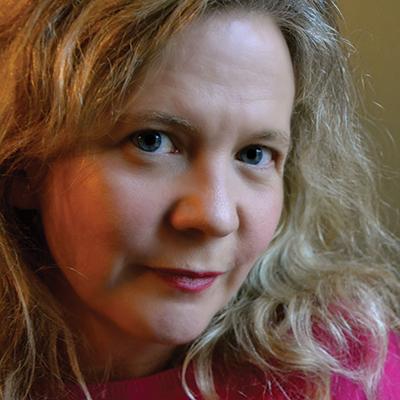 Lisa Moore. Credit: Nathalie Marsh.